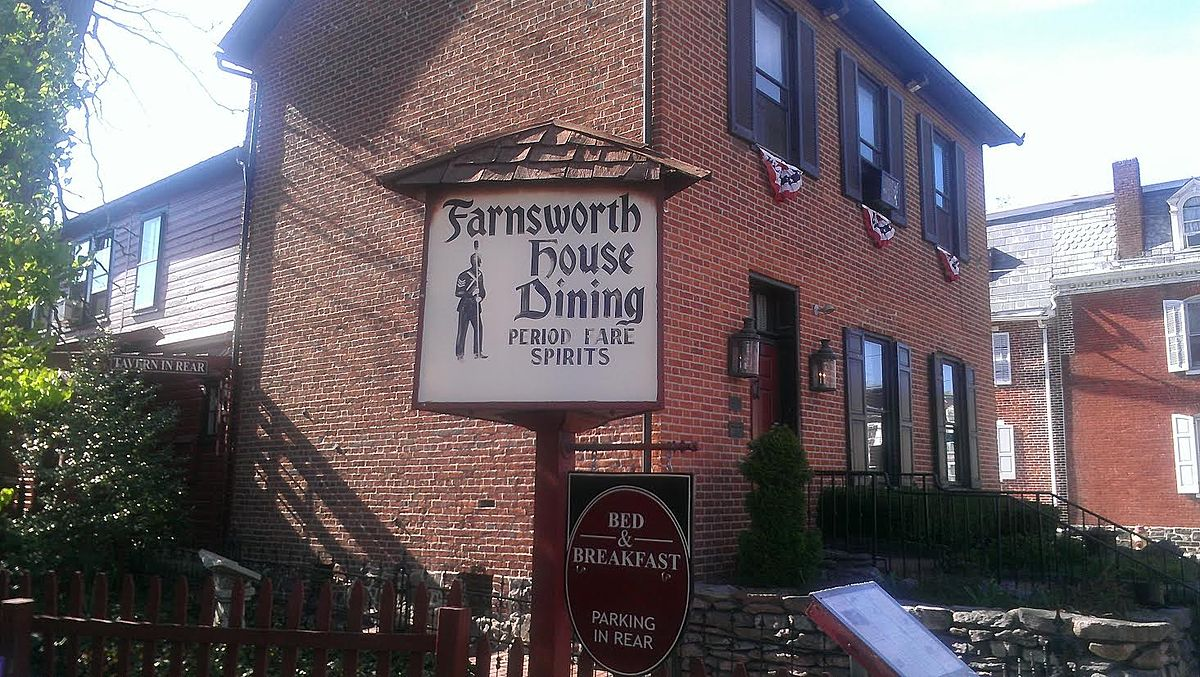 the farnsworth house inn - wikipedia
