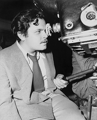 Orson Welles filmography - Orson Welles at work on The Magnificent Ambersons (1942)