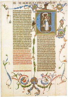 Bible translations in the Middle Ages