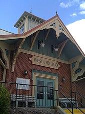 City Line Avenue >> West Chicago, Illinois - Wikipedia