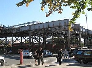 180th Street–Bronx Park (IRT White Plains Road Line) - Stub of demolished spur