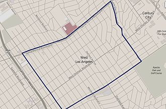 West Los Angeles - West Los Angeles as defined by the Los Angeles Times