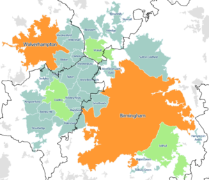 West Midlands conurbation WikiVisually