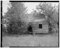 West rear - Vance Farmstead, Tenant House B, State Route 88, Hephzibah, Richmond County, GA HABS GA,123-HEPH,1C-4.tif