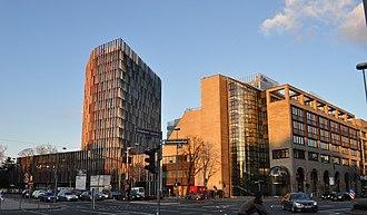KfW - Central office of KfW (Westarkade Frankfurt)
