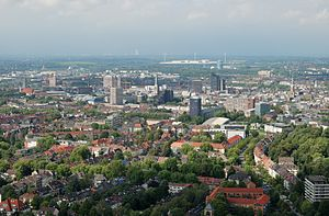 Rhine-Ruhr - Aerial view of Dortmund