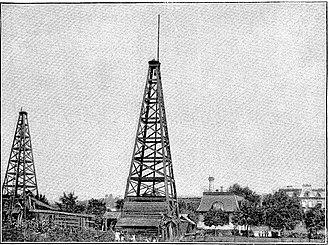 Westinghouse Park - Image: Westinghouse Gas Derrick No 1