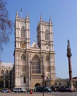 Westminster Abbey Church in London