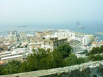 Westside, Gibraltar - Gibraltar Harbour, North Mole