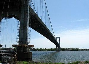 Bronx–Whitestone Bridge - From the Bronx