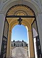 Widok na Pałac Branickich z pod bramy wjazdowej Białystok mariag36.jpg