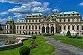 Wien - View NW - Upper Belvedere 1723 Johann Lukas von Hildebrandt.jpg