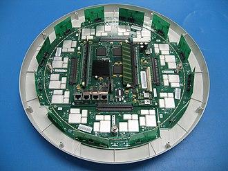 Wi-Fi array - Inside a Wi-Fi Array.