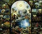 Wijnen, Dominicus van - Allegory of the Creation of the Cosmos - 17th c.jpg