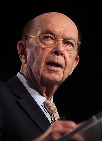 Wilbur Ross - Ross speaking at a political conference in December 2018