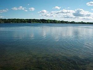 Wilcox Lake - Wilcox Lake from Sunset Beach Park