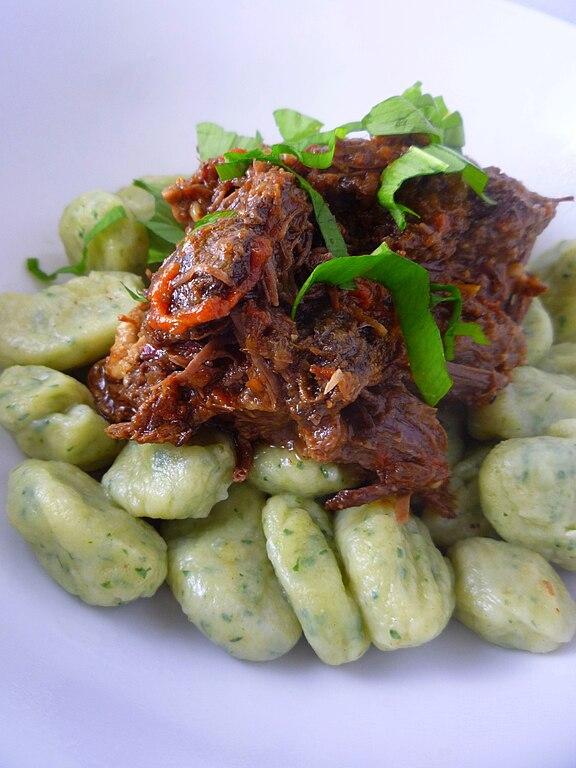 File:Wild Garlic Gnocchi and Beef Cheek Ragu.jpg ...