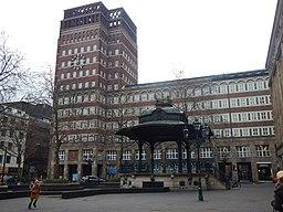 Stadtbrückchen in Düsseldorf