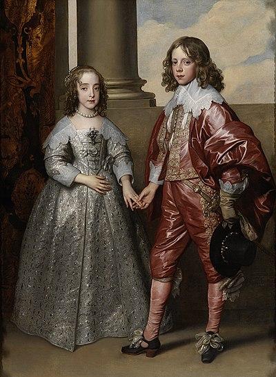 Willem II en zijn bruid Maria Stuart Rijksmuseum SK-A-102