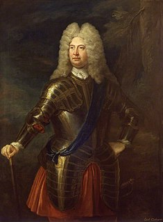 William Cadogan, 1st Earl Cadogan military officer in the army of John Churchill, 1st Duke of Marlborough