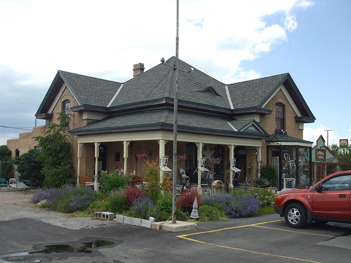 William james and edna cordner house wikipedia for Utah house