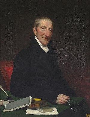 William Denning - Portrait of Denning by John Vanderlyn, 1831