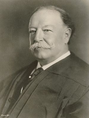 Handlebar moustache - Image: William Howard Taft as Chief Justice SCOTUS