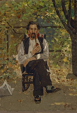 William J. Forsyth - Uncle Con (Conley Highland) - 64.755 - Indianapolis Museum of Art