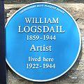 William Logsdail plaque.jpg