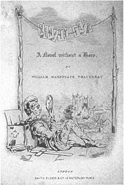 Title-page to Vanity Fair, drawn by Thackeray, who furnished the illustrations for many of his earlier editions