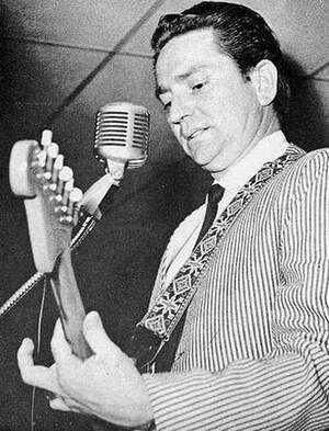 Willie Nelson - Nelson performing on a Grand Ole Opry package show in 1965