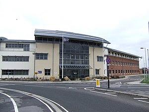 English: Wiltshire Police headquarters buildin...
