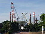 Wind turbin platform at Cammell Laird, Birkenhead (2).JPG