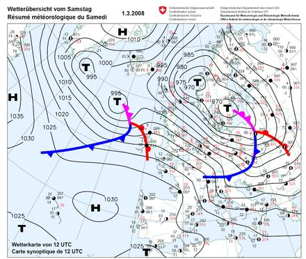 meteorológiai térkép Izobár (meteorológia) – Wikipédia meteorológiai térkép