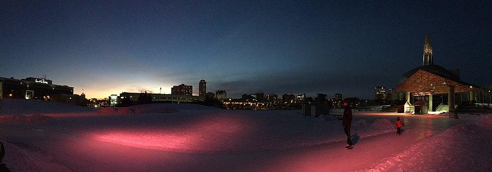 Winnipeg Ice Skating