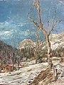 Winterlandschaft bei Berchtesgaden (1953) WV1372.jpg