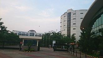 InfoPark, Kochi - Wipro Campus Entrance at Infopark Phase I