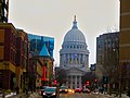 Wisconsin State Capitol Looking up King Street - panoramio.jpg