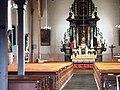 Wnętrze kościoła w Okrzeszynie, maj 2010.JPG