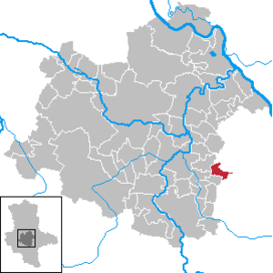 Wohlsdorf - Image: Wohlsdorf in SLK