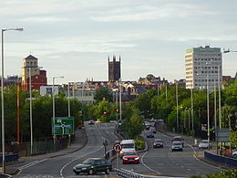 City of Wolverhampton – Veduta