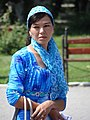 Woman in Al-Ferghani Park - Fergana - Uzbekistan (7535742184).jpg