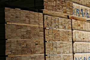 Swifts Creek - Pallets in the Swifts Creek Sawmill
