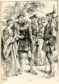 Woodcut of Robin Hood meeting with the Maid Marion and the Sheriff of Nottingham.tif
