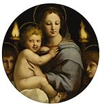 Workshop of Raphael - Madonna of the Candelabra - Walters 37484.jpg