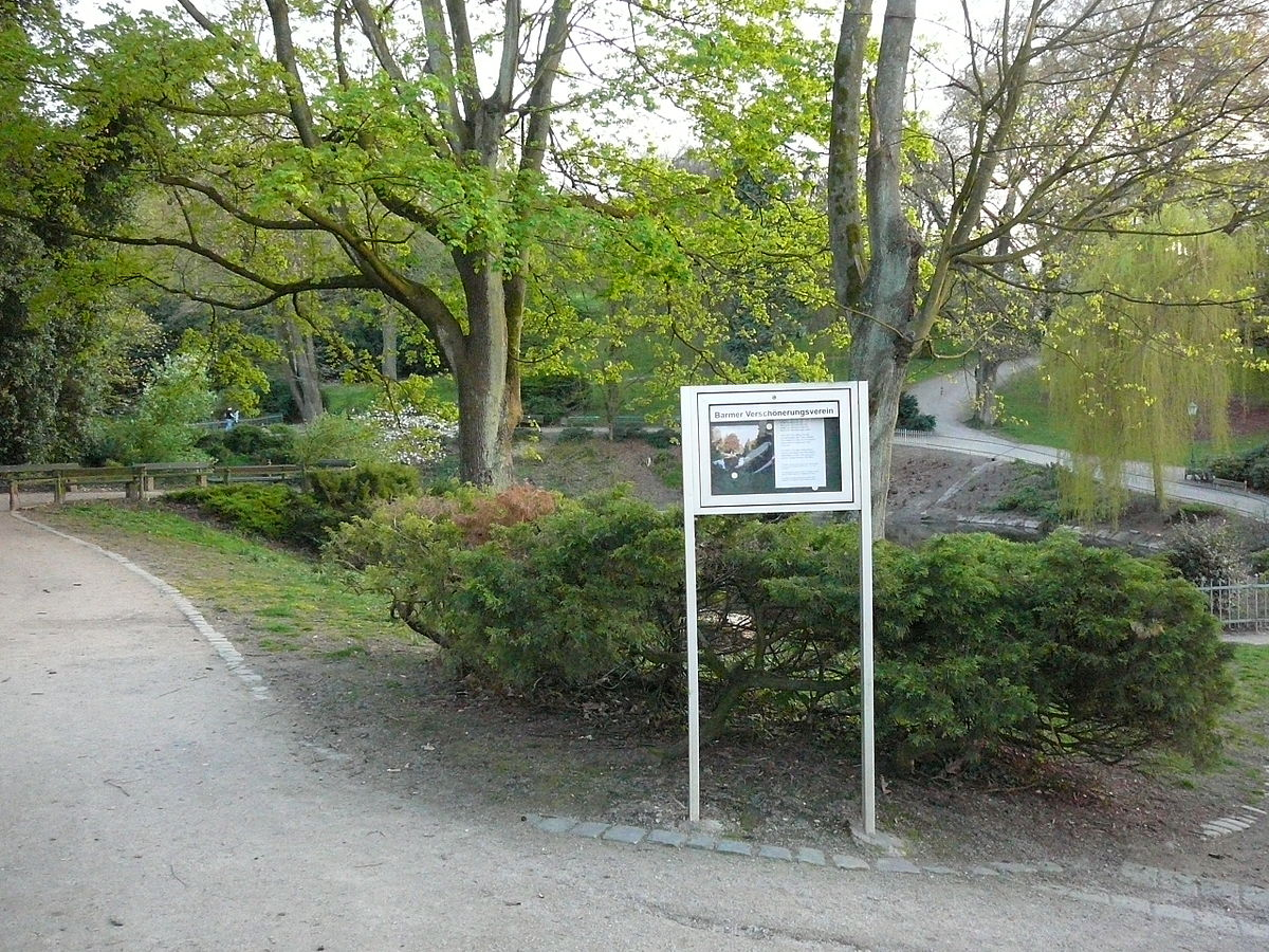 Barmer Küchenoper Wuppertal ~ barmer verschönerungsverein u2013 wikipedia