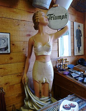 Triumph International - Triumph underwear from the 1950s