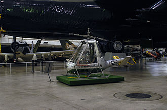 American Helicopter XH-26 Jet Jeep - XH-26 in the National Museum of the United States Air Force
