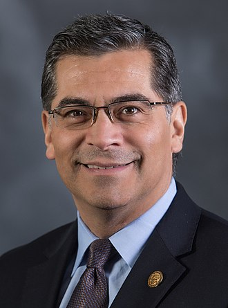 California executive branch - Image: Xavier Becerra official portrait (cropped)