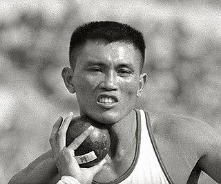 Yang Chuan-kwang Taiwanese decathlete